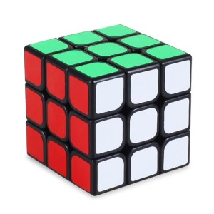 Rubik 3x3 Guanlong YJ Magic Cube 3x3x3 Yongjun Speed Cube Black Case