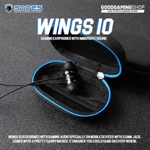 Sades Wings 10 - Gaming Earphone