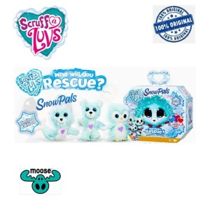 Moose Little Live Pets Scruff a Luvs Friends Limited Edition Snow Pals