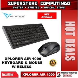 Alcatroz Xplorer Air 1000 Wireless Keyboard Mouse Combo