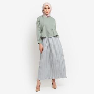 Gamis Muslim Wanita Le Najwa Leia Dress