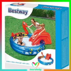 Mainan anak - kolam renang karet kotak - bestway 54006