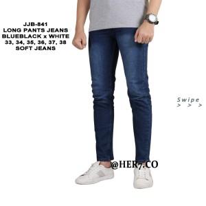 Celana Denim Pensil 33-38 JUMBO Panjang Pria Celana Jeans panjang