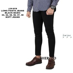 Celana Denim JUMBO 34-38 Panjang Pria Celana panjang Pensil Pria