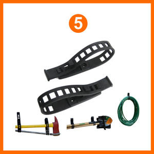 Rubber Clamp Mounting Kit (5)