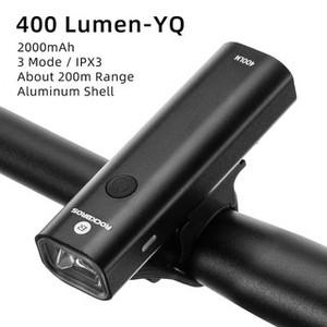 lampu sepeda LED Rockbros V9C200 rechargeable YQ-QD 200 lumen