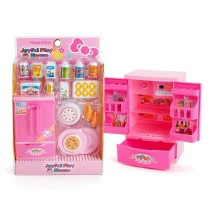Mainan Anak Joyful Play House Kitchen Set Lemari Es Peralatan Dapur