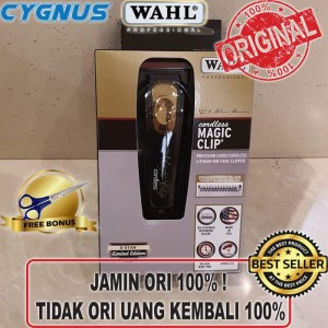 WAHL Cordless Magic Clip Black Gold Limited Edition ORIGINAL USA