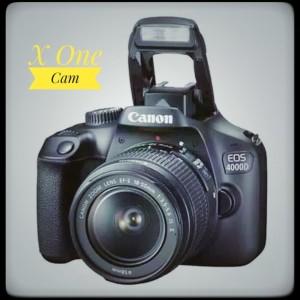 Kamera Canon eos-4000D kit 18-55mm f/3.5-5.6 III