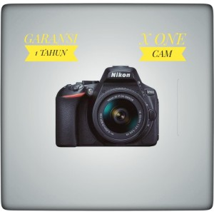 Camera Nikon D5600 kit 18-55mm - Hitam