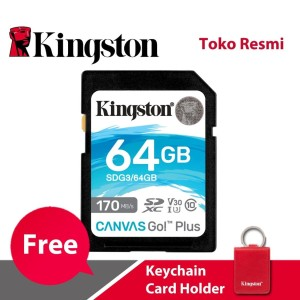 Kingston SD Card Canvas Go! Plus Class 10 SDXC 64GB