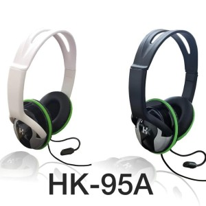 HK 95A Headset game dengan mic head set gamers suara ok