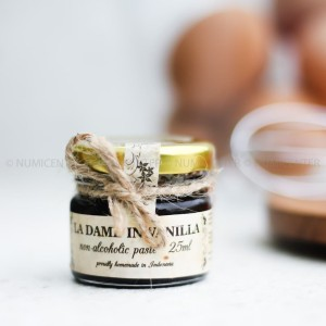 25ml Vanilla Paste Non Alcohol Halal MUI - La Dame In Vanilla