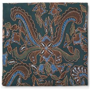 Kain Batik Tulis Warna Alam Motif Pisan Bali Granitan