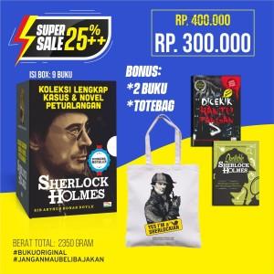 Super Sale Koleksi Lengkap Kasus & Novel Petualangan Sherlock Holmes