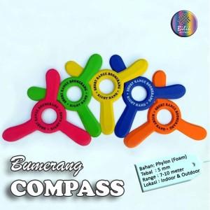 Mainan Anak Edukatif Sport Bumerang Boomerang Compass
