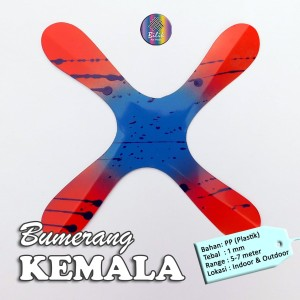 Mainan Anak Edukatif Tradisional Bumerang Boomerang Kemala