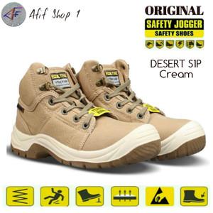 Sepatu Safety Joger DESERT S1P BROWN