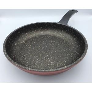 Panci Fry Pan 24 cm Marble coating colour / wajan anti lengket 24 cm