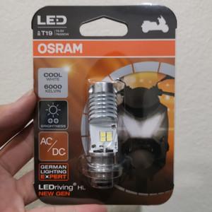 OSRAM LED H6 M5 LAMPU UTAMA MOTOR K1 AC/DC JAMIN PNP - OSRAM NEW GEN 2