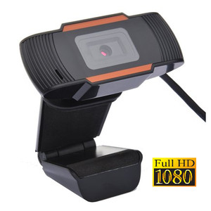 Webcam 1080p Full HD USB High Resolution Support Laptop