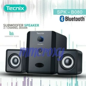 Tecnix SPK-B080 Speaker Bluetooth Subwoofer