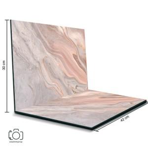 Alas Foto Lipat Marmer Pink 42x30 cm / Background Foto Marble (ML-12)