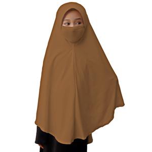 Bajuyuli - Jilbab Masker Anak Perempuan Sekolah Polos Basic
