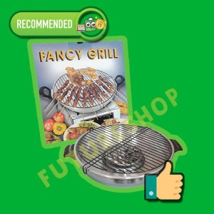 Maspion Fancy Grill 33 cm - Pemanggang BBQ