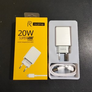 TRAVEL CHARGER REALME OP52CAED VOOC COLOKAN V8 MICRO USB ORIGINAL 99%