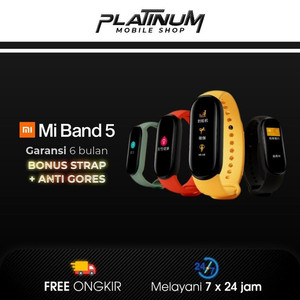Xiaomi Mi Band 5 Original - Xiaomi Smartwatch Mi Band 5 GLOBAL OLED - no bonus