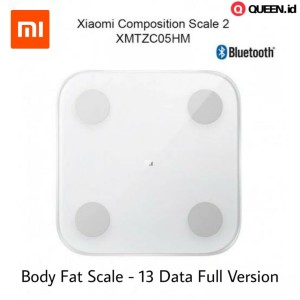 Xiaomi Mi Smart Scale 2 Body Fat Mass Timbangan Badan Digital Full