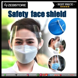 Mask Masker Full Face Shield Pelindung Muka Transparan