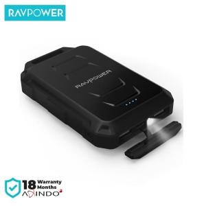 RAVPower Waterproof & Shockproof Powerbank 10050mAh Black [RP-PB044]