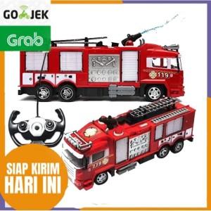 Mainan RC Truk Pemadam Kebakaran / Fire Rescue Radio Control