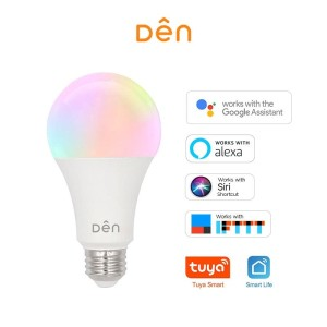 DEN Smart Home WiFi LED Bulb 12W - Bohlam LED (RGB+CCT)