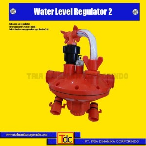 Water Level Regulator 2 Outlet Pipa Lokal Bulat