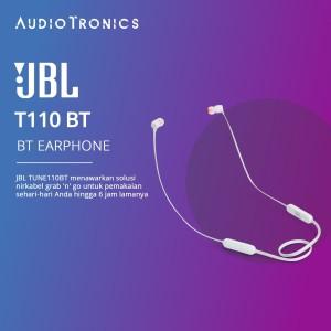 JBL T110 BT / T110BT Wireless In-Ear Headphones - White