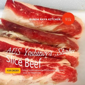 Premium Slice Beef (AUS) / Yoshinoya / Shabu /@1kg/Juicy jg Gesss!!!