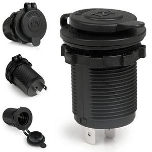 soket cigarette lighter charger HP GPS motor mobil 12V waterproof