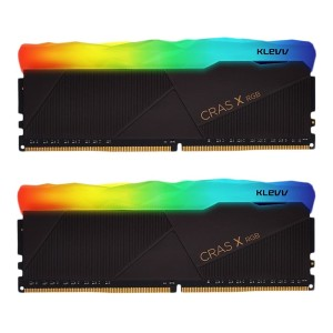 Klevv 32GB KIT (16GB X 2 CRAS 3200 Mhz PC4 - 25600 (RGB)
