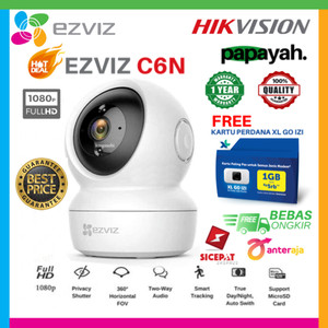 EZVIZ C6N WIRELESS IP CAM 1080P SMART IR NIGHT VISION PENGGANTI C6CN