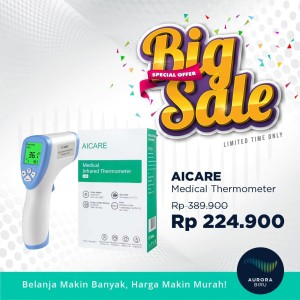 [BIG SALE] AICARE Medical Infrared Thermometer
