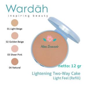Wardah Refill Lightening Two Way Cake 12 gr