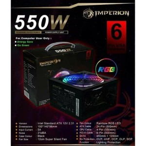 IMPERION POWER SUPPLY 550W RGB