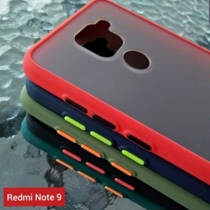 Xiaomi Redmi Note 9 Biasa Soft Case Colored Frosted Matte Dove Fuze
