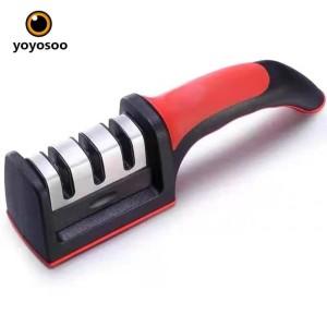 Asahan Pengasah Pisau Knife Sharpener With Sunction PAD YOYOSOO- BESAR