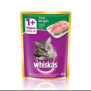 Makanan Kucing Whiskas Pouch 85g