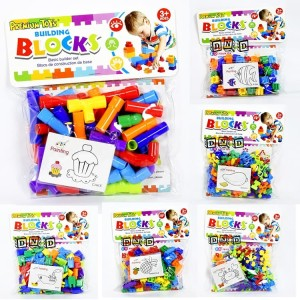 Mainan Edukasi Anak DIY Building Blocks Creativity Toys 12 Model
