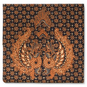 Kain Batik Tulis Sogan Klasik Motif Babon Angrem Latar Truntum